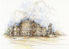 <i>Bettina Elstner</i><br>Semperoper in Dresden
